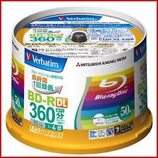 50 Verbatim Bluray BD-R 50GB Original Spindel Bedruckbar Blu-Ray Rohlinge