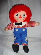 """12"""" Vintage 1987 Playskool Raggedy Andy Doll Plush Soft Toy Stuffed Animal EUC"""