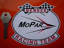 MOPAR Racing Team Member Chrysler Sticker 120mm Classic Car Race DODGE PLYMOUTH