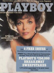 JOAN COLLINS - Rare Original Vintage Magazine Promotional Brochure 1983