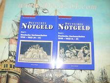 Grabowski/Mehl: DEUTSCHES NOTGELD, Serienscheine 1918-1922. 2 Volumes.(A-K +L-Z)