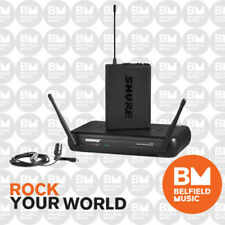 Shure SVX14CVL Wireless Microphone System With Lavalier and Bodypack Transmitter