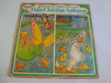 Tinkerbell Records Thumbelina & The Ugly Duckling Musical Fairy Tales LP Record
