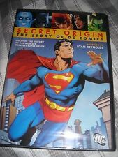 New Secret Origin: The Story of DC Comics DVD Super Heroes Superman Batman Flash