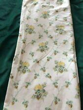 "Vintage Laura Ashley Curtains  - Country Lattice 72"" L x 40""W"