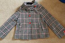 Baby Phat Red Black White Plaid Coat, small