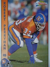 NFL 401 Robert Perryman RB Running Back Pacific 1992