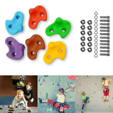 Textured Climbing Holds Rock Wall Stones Holds Grip For Kid Indoor Outdoor Us