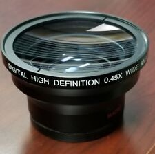 Digital Optics Professional Lens .45x Wide Angle 58mm High Resolution AR COAT