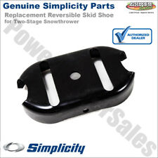 Genuine Simplicity Reversible Skid Shoe forTwo-Stage  Snowthrowers / 1727854BMYP