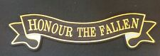 Personalized Embroidery back patch Ribbon, Honour the fallen (30)