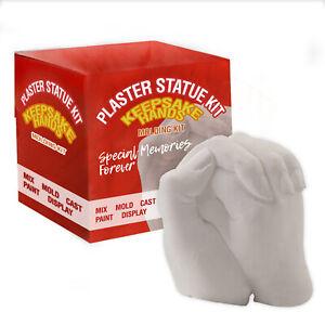 Hand Casting Kit - New Color Changing Powder | Keepsake Hands Molding Kit |