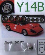 """RUOTE 1/43 ABARTH 1300 OT  13"""" Sprint43 Y14B"""