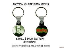 Herman Munster Frankenstein The Munsters set of 2 Key Chains