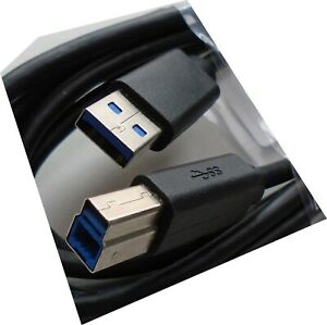 QUAILTY USB 3.0 A Male to B Male Printer Cable Super Speed 1.8M USB Type B