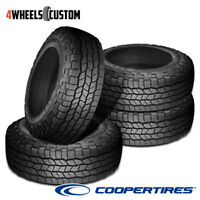 4 X New Cooper Discoverer AT3 XLT LT285/60R20R10 125S Tires