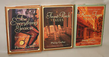 Philip Gulley Lot of 3 Signed Hardcover Books Front Porch Home Town A Season