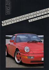 PORSCHE 911 964 CARRERA COUPE 2 4 TECHART Tuning Prospekt Brochure 6