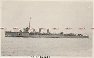 "Photograph Royal Navy. HMS ""Oriole"" M class Destroyer. Served WW1. Fine!  c1916"