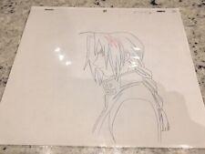 Fullmetal Alchemist Anime Douga Key Cel Sketch - Edward Elric - A4