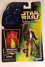 STAR WARS POTF BESPIN HAN SOLO WITH HEAVY ASSAULT RIFLE AND BLASTER NIB