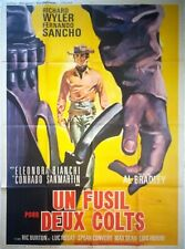 Affiche cinéma western UN FUSIL POUR DEUX COLTS - 120 x 160 cm