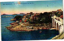CPA Marseille-La Corniche Malmousque et les Iles (185708)
