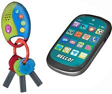Dress Up America  Playkidz My First Cell, Touch Phone Car Keys with Remote Alarm