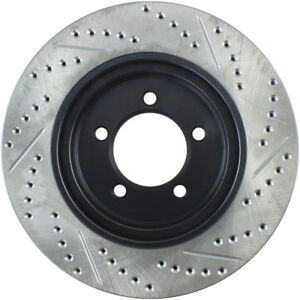 Disc Brake Rotor-4 Door Front Right Stoptech 127.65091R