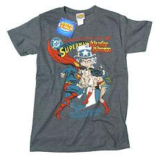 Justice League - Wonderwomen VS Superman T-shirt Dark Heather EX LargeTshirt