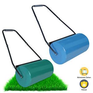 Rasenroller Rasenwalze Handwalze Gartenwalze 57cm Rasenlüfter Ackerwalze 2 Farbe