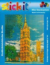 Mini Stecksystem Gedächtniskirche Berlin ca. 9.800 Teile mit XXL-Steckvorlage