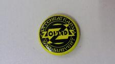 Zounds anarcho punk post-punk music artist buttons vintage SMALL BUTTON 3