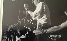 "Guns N' Roses photo signed by ""My Michelle"" who's in crowd 1985 Slash Axl Rose"