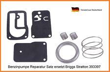 Vergaser Reparatur Satz für Briggs & Stratton 393397 Kraftstoff Pumpe Kit