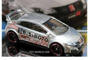 2018 Hot Wheels Zamac #17 HW Speed Graphics '16 Honda Civic Type R