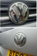 VW T6 Van Camper Front & Rear Badge inlay Stickers Decals rear badge X4! SPARES