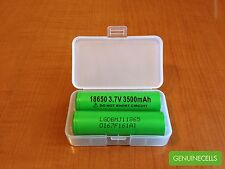 10x GENUINE LG MJ1 18650 3500mAh 10A HighDrain Rechargeable Battery LGDBMJ11865