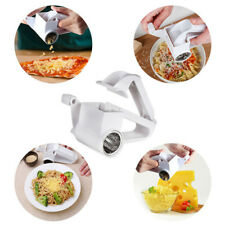 Stainless Steel Cheese Grater Multi Drum Rotary Butter Slicer Shred Kitchen Tool