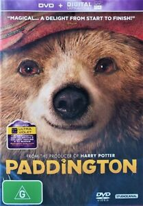 PADDINGTON (DVD, 2015, R4) - Used Good condition