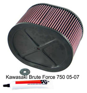 Filtro de aire Kawasaki Brute Force 750 05-07 KN-7504  KA-7504
