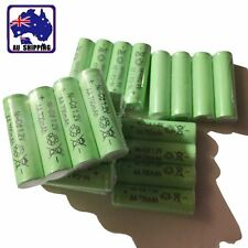 4x Rechargeable Battery Batteries Cell Ni-Cd 1.2V 700mAh AA Green EYBA43005x4