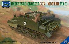 Riich Models RV35017 1/35 Universal Carrier 3 in. Mortar Mk.1