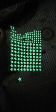 202 pcs set 3D Bubble Glow in the dark Stars Wall Sticker kids room home decor