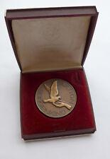 Medaille Brieftaubenliebhaber Essen --Für hervoragende Flugleistungen-- im Etui