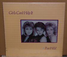 "Girls Can't Help It Pure Wild Sealed vinyl 12"" mini album vinyl record LP cut"