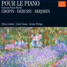 Pour le Piano-Famous Piano Works (1968-90, CCC) Chopin, Skrjabin, Debussy.. [CD]