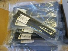"5000 Pack 18"" Blck Zip Ties/Cable Ties Heavy Duty Nylon UV Resistant UL Scorpion"