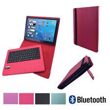 QWERTZ Bluetooth Tastatur Schutzhülle Asus Google Nexus 7 7 Zoll Pink
