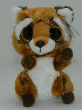 Ty Beanie Boo's Rusty the Racoon 6 inch Birthday July 11 Gift Soft Easter